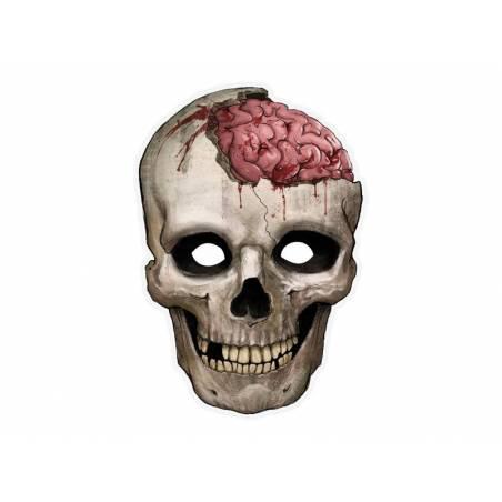 Masque de crâne 21 x 30cm