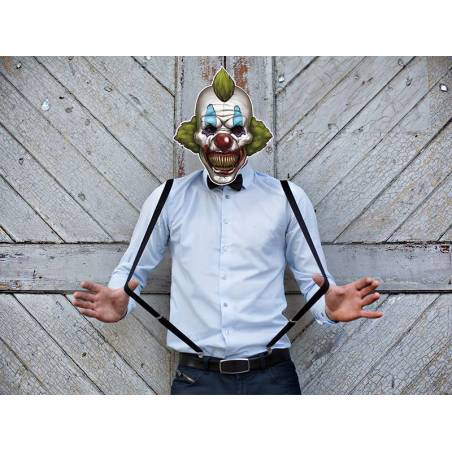Masque Clown Effrayant 30 x 35cm