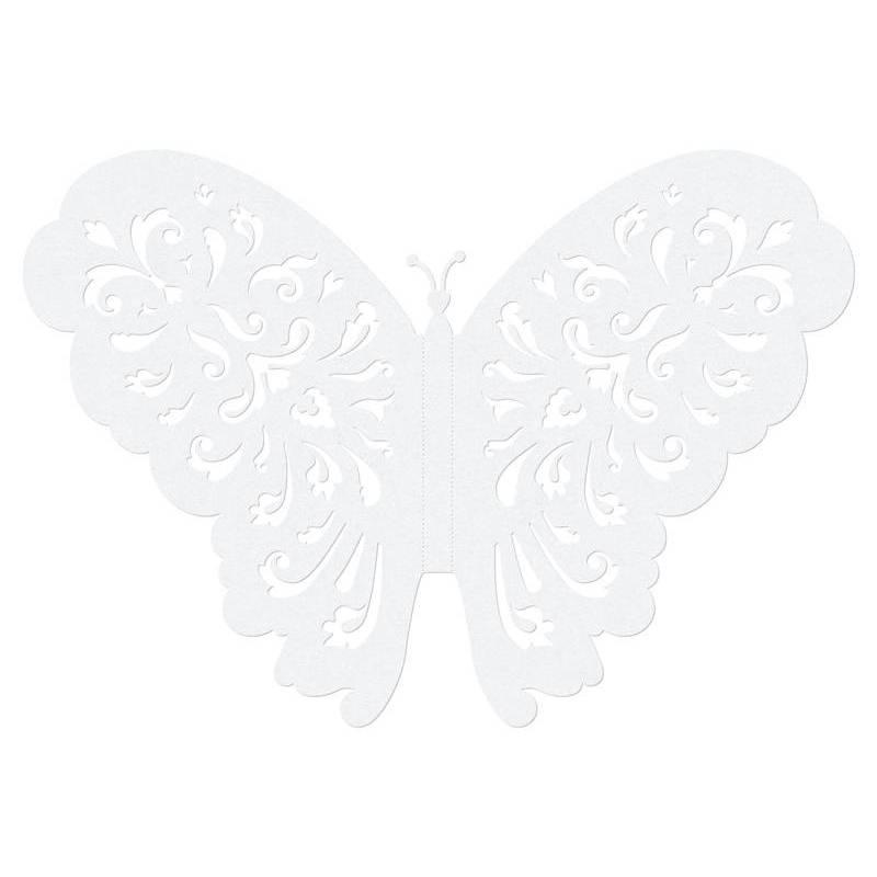 Décorations en papier Papillons 14cm