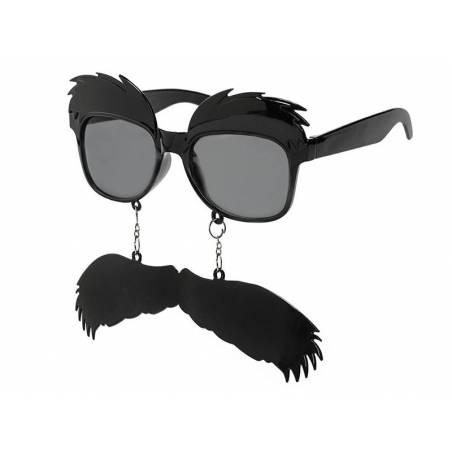 Lunettes Sourcils et Moustache