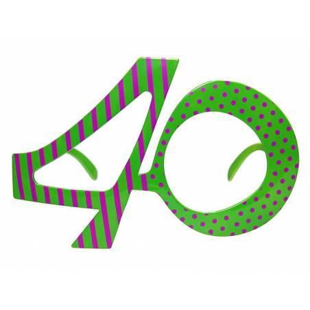 Lunettes 40 vert