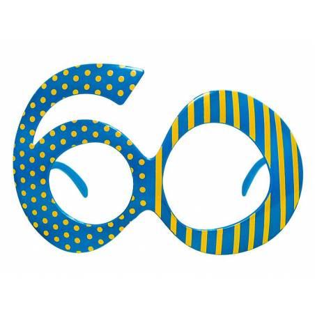Lunettes 60 bleu