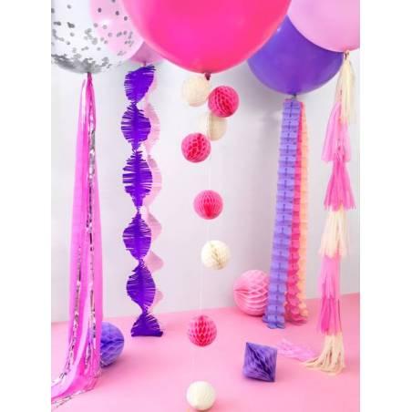 Ballon rond 1m Pastel Lavande