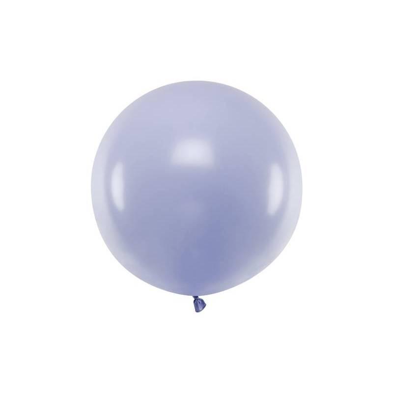 Ballon Rond 60cm Lilas Clair Pastel