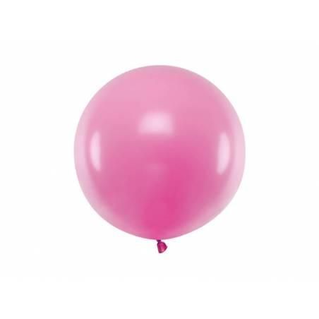 Ballon Rond 60cm Pastel Fuchsia