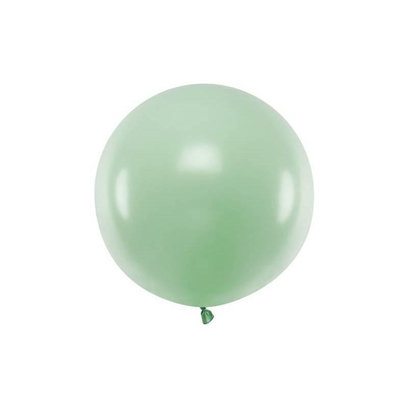 Ballon Rond 60cm Pistache Pastel