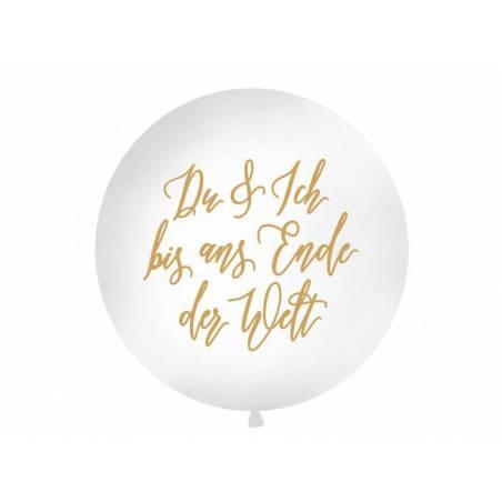 Ballon géant 1 m Du