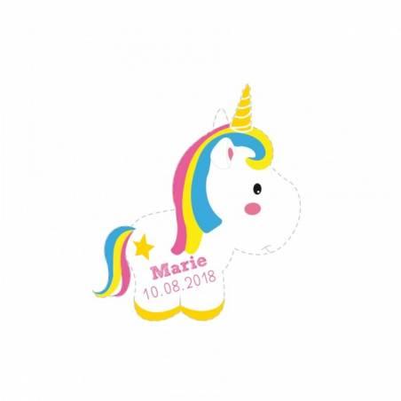 40 Minis Stickers Licorne