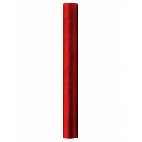 Organza Uni rouge 036 x 9m