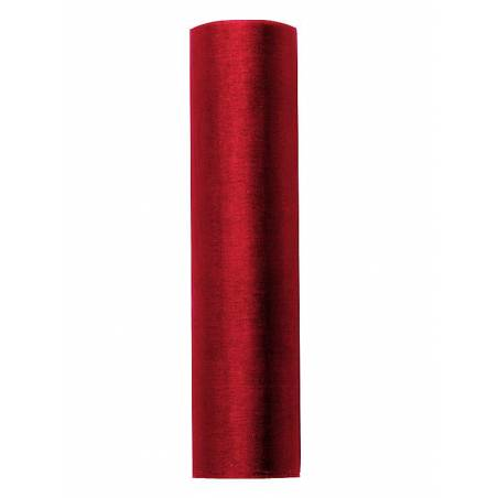 Organza Uni rouge 016 x 9m