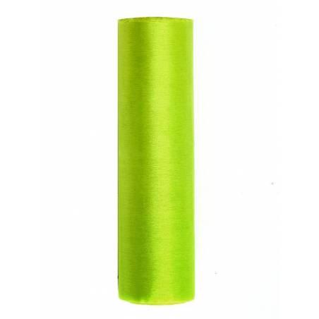 Organza Uni vert clair 016 x 9m
