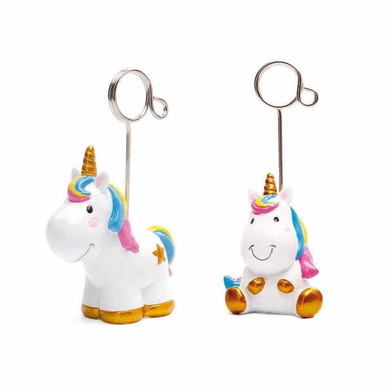 2 Licornes Luna porte-cartes