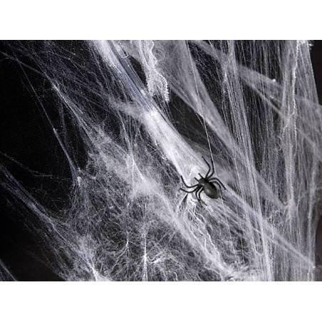 Toile d'araignée Halloween blanc 60g