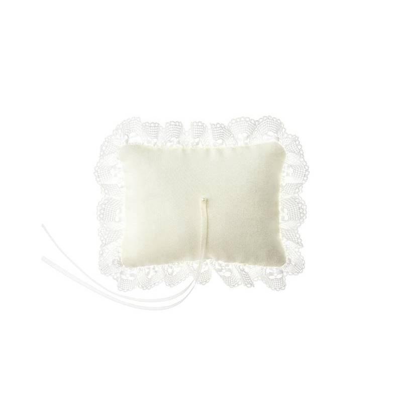 Coussin porteur crème 10x13cm
