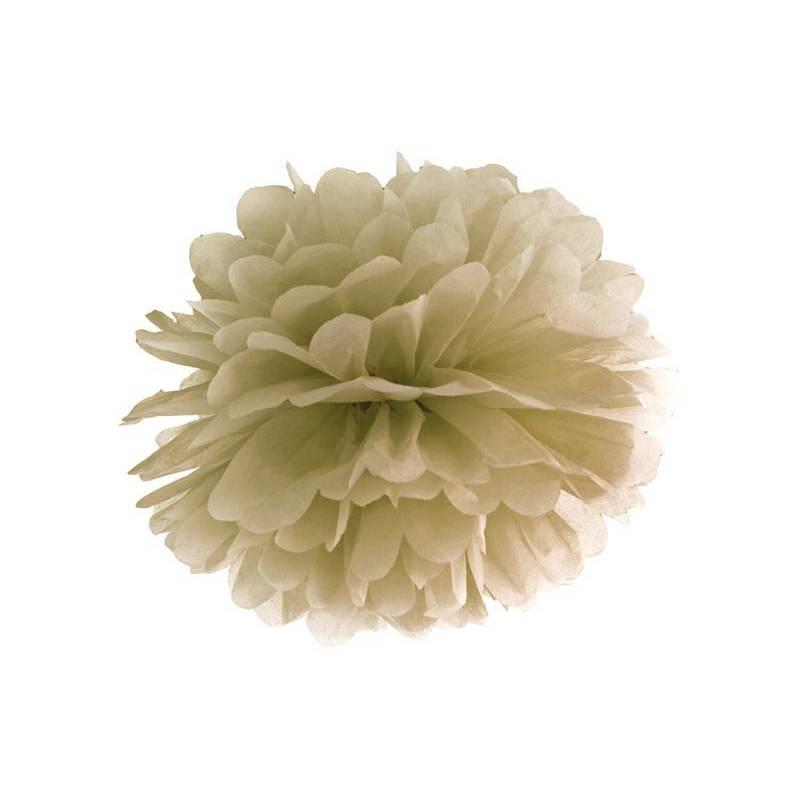 Papier de soie Pompon or 25cm