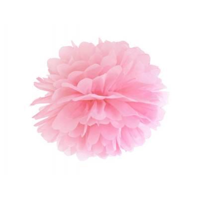 Papier de soie Pompon rose clair 25cm