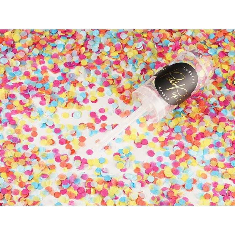 Confetti push pop mix