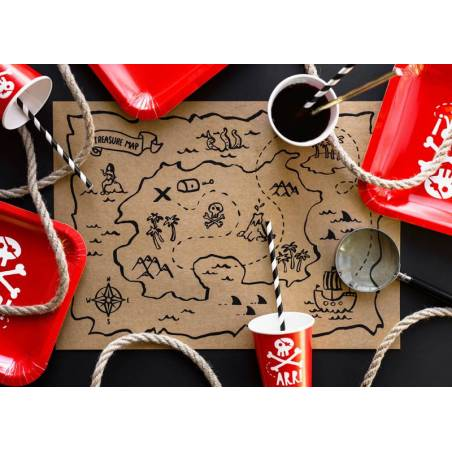 Set de table en papier Pirates Party 40x30cm