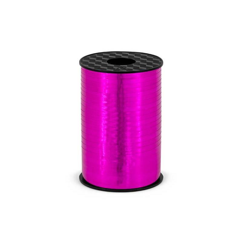 Ruban en plastique rose foncé 5mm / 225m