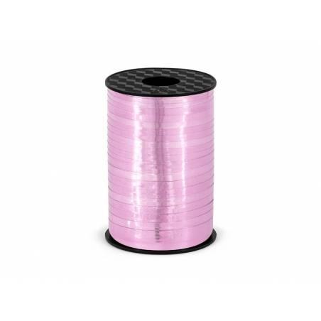 Ruban en plastique rose 5mm / 225m