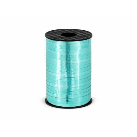 Ruban en plastique turquoise 5mm / 225m