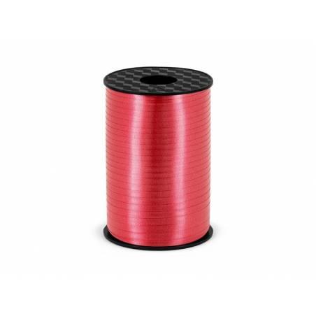Ruban en plastique rouge 5mm / 225m