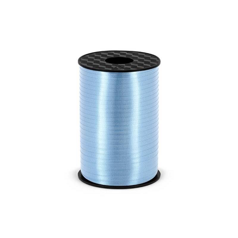 Ruban en plastique bleu ciel 5mm / 225m