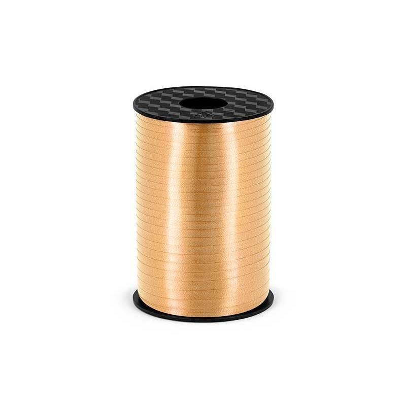 Ruban en plastique or clair 5mm / 225m