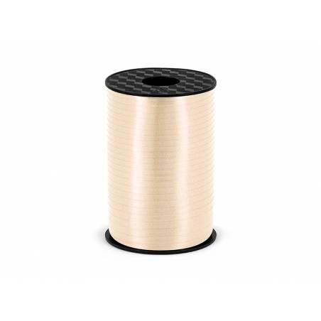 Ruban en plastique crème 5mm / 225m