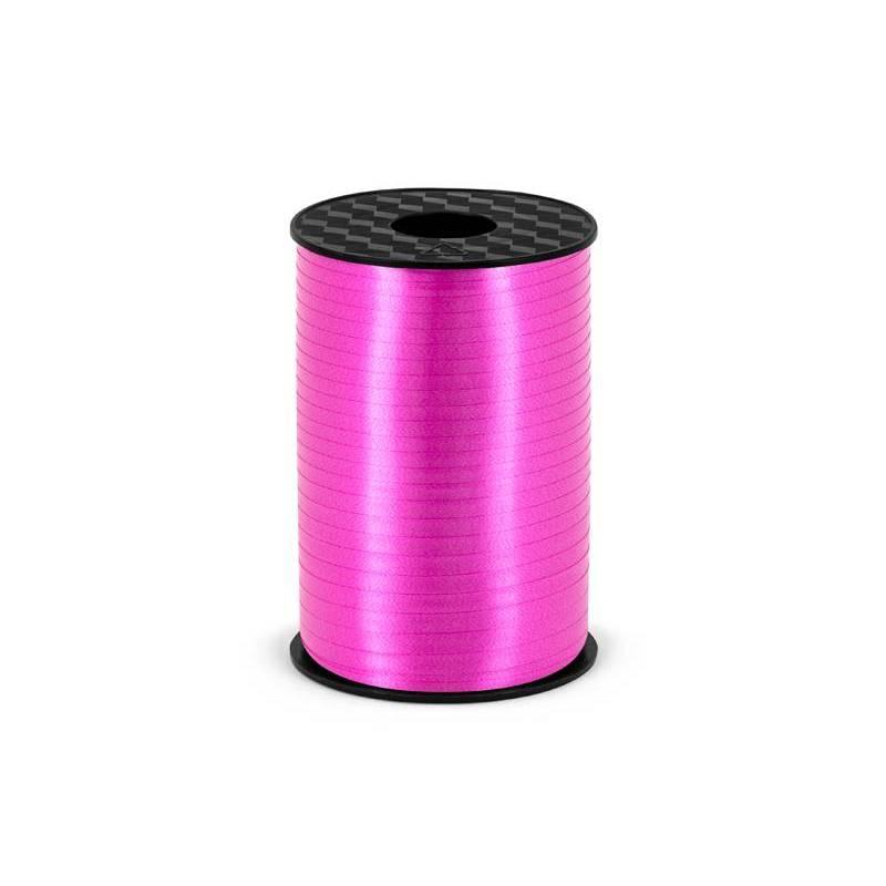 Ruban en plastique fuchsia 5mm / 225m