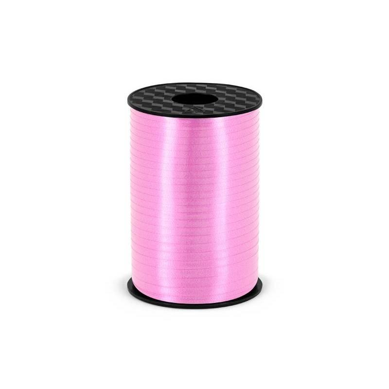 Ruban en plastique rose clair 5mm / 225m