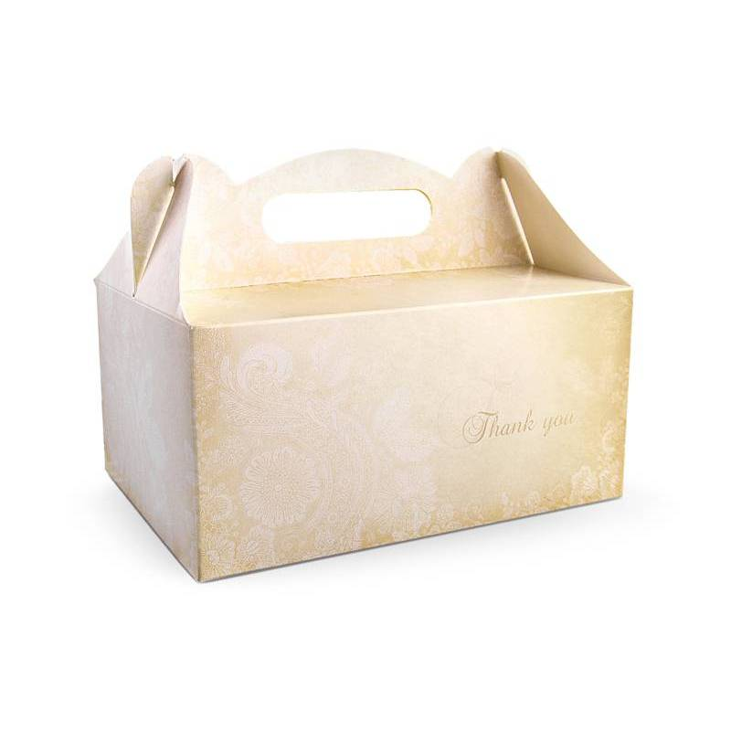 Boîtes à gâteaux de mariage décoratifs