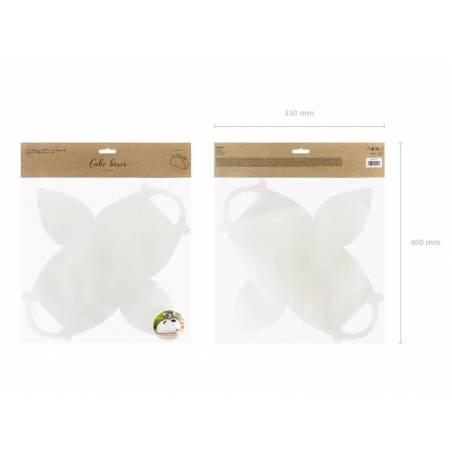 Boîtes à gâteaux décoratives blanches 16x85x95cm.