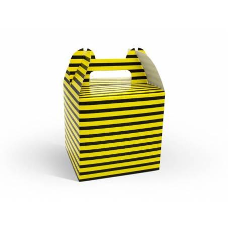 Boîtes décoratives pour bonbons Abeille mélange 87 x 87 x 125 cm