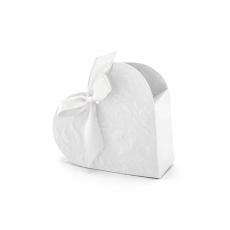 Boîtes Coeur blanc