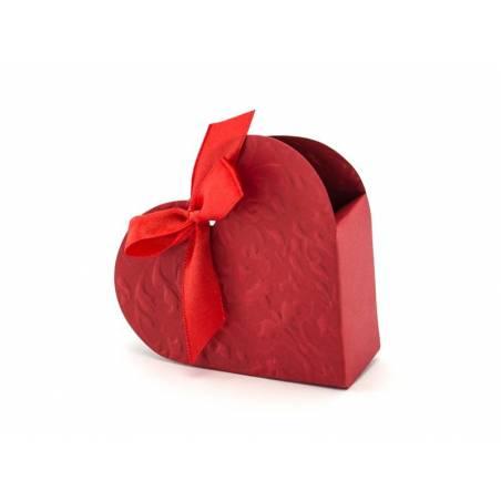Boîtes Coeur rouge