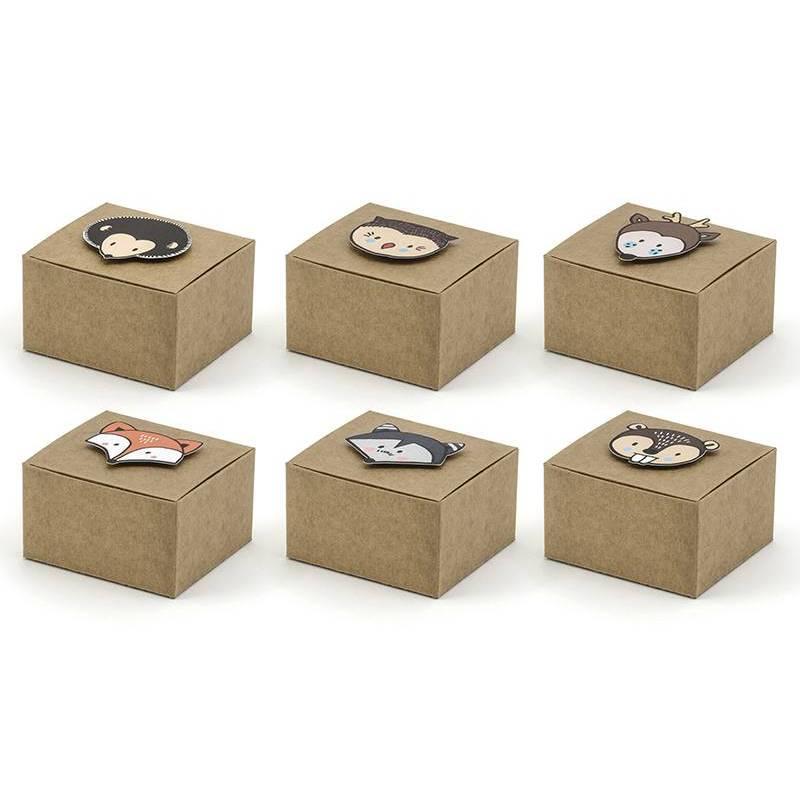 Boîtes à bois mélanger 6x55x35cm