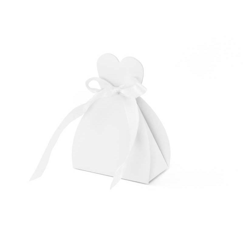 Boîtes de mariée blanc