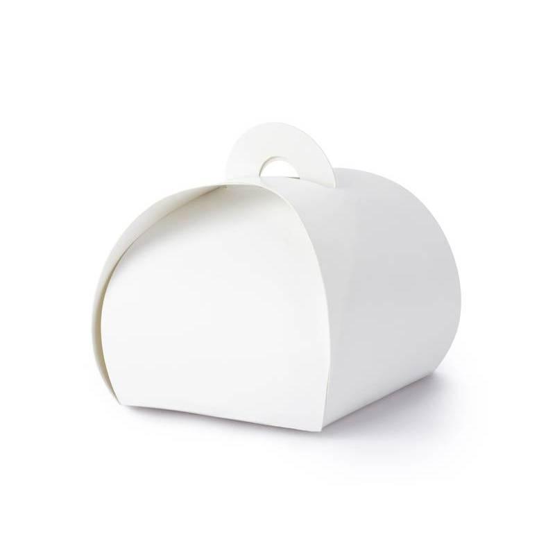 Boîtes blanches 6x6x5.5cm