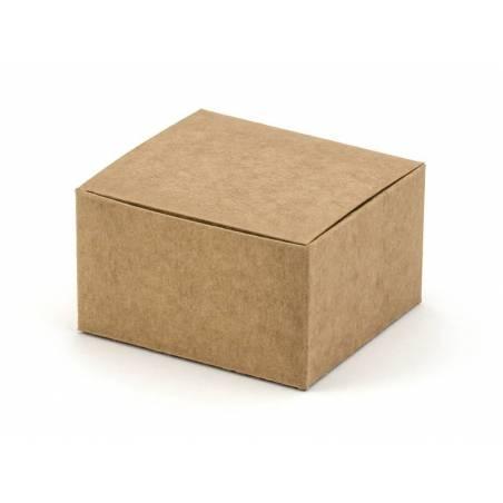 Boîtes kraft 6x5.5x3.5cm