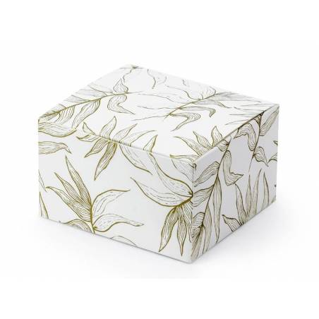 Boîtes Feuilles blanches 6x35x55cm