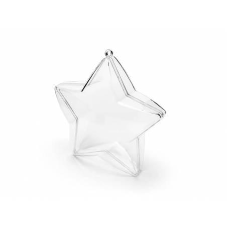 Boites Star incolores 10cm