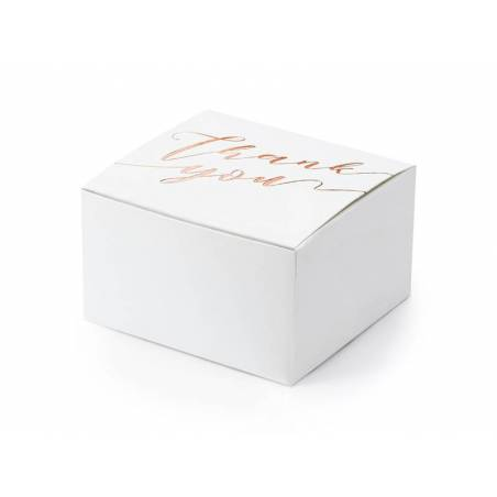 Boîtes de remerciement blanc 6x35x55cm