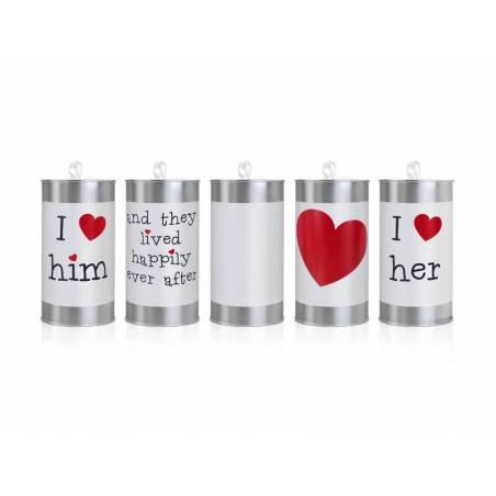 Boîtes de mariage 14 x 7cm
