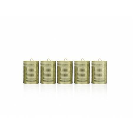 Boîtes de mariage or clair 10 x 7cm