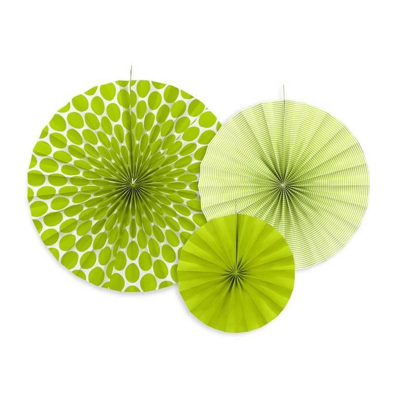 Rosaces décoratives vert pomme