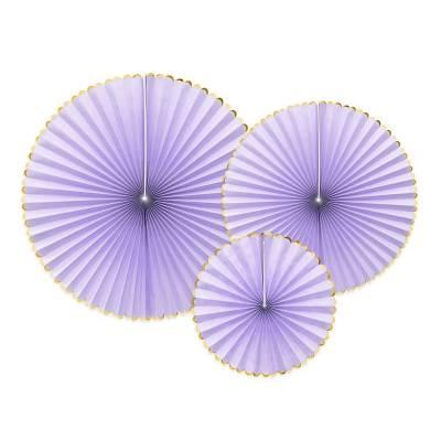 Rosettes décoratives Délicieux lilas clair