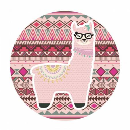 20 Maxi Stickers Lama Rose