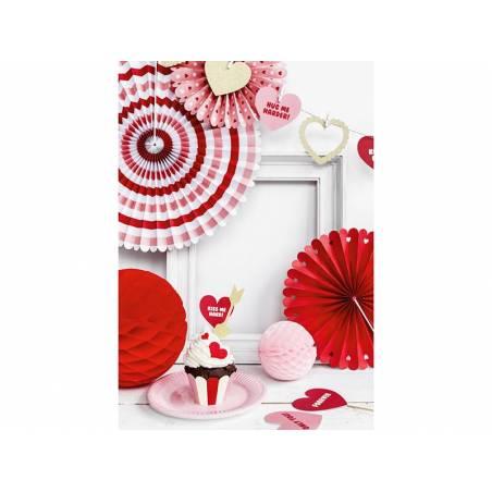 Rosettes décoratives Sweet Love mélanger
