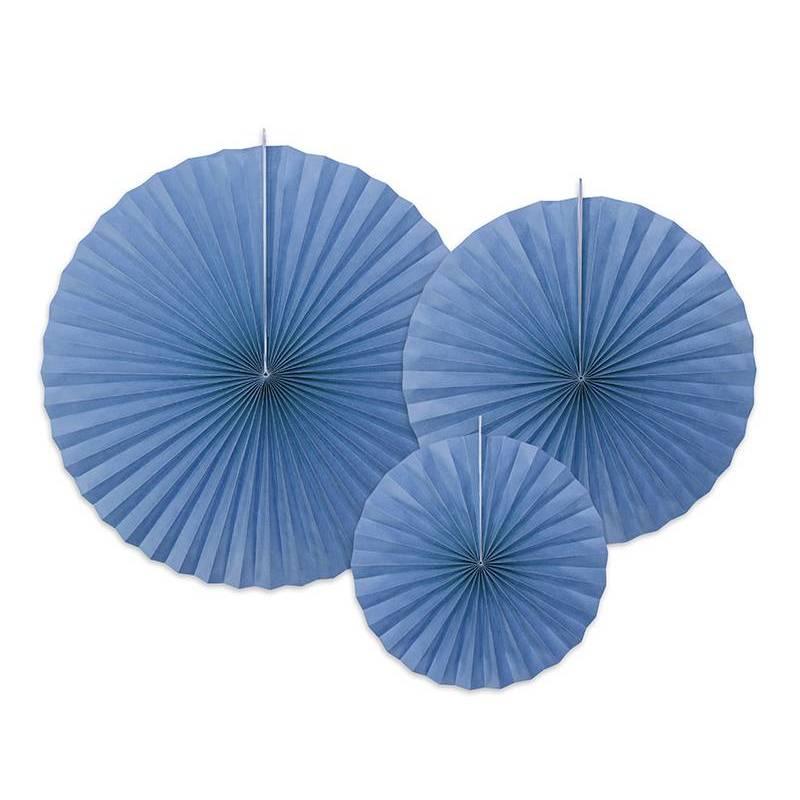 Rosettes décoratives bleuet